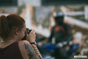Echte Moppedfahrer - Fotografin